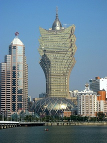 Grand Lisboa in Macao