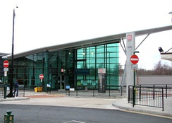 Hyde bus station served by TfGM