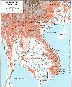 Indochina in 1954