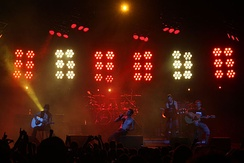 Jane's Addiction performing at Verizon Amphitheater in Charlotte, North Carolina in 2009