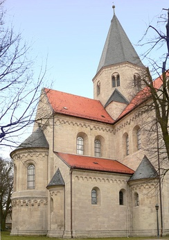 Burial place of Lothair II: Kaiserdom in Königslutter, founded by the emperor in 1135