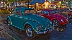 The Borneo Bug Fest in 2016, featuring Volkswagen Beetle.