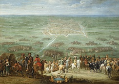 Lambert de Hondt (II): Louis XIV is offered the city keys of Utrecht, as its magistrates formally surrender on 30 June 1672