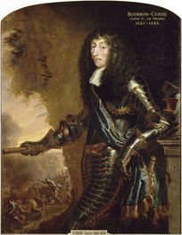 Condé; exiled in 1651, his restoration was a major obstacle to peace
