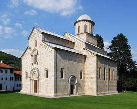 Serbian Orthodox Monastery of Dečani, from the first half of the 14th century (World Heritage Site)