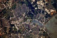 A 2010 photo of JSC from the International Space Station