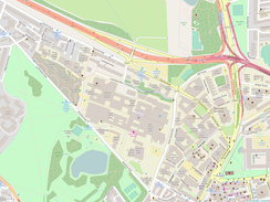 Newcastle University Open Street Map