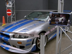 Walker drove a R34 Nissan Skyline GT-R V-Spec in 2 Fast 2 Furious. He later owned the car.