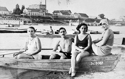 Swimmers at Szeged, 1939