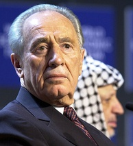 Shimon Peres, born in Poland as Szymon Perski,  served as the ninth President of Israel between 2007 and 2014