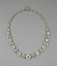 Diamond necklace, c. 1904