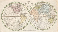 Pre 1800 Map Geographicus - World. 1798