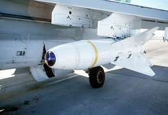 The original Walleye looked more like a missile than a bomb. It was a primary weapon of the A-7 Corsair II.