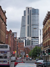 Bridgewater Place, a symbol of Leeds' growing financial importance.