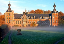 Arenberg Château, part of the Katholieke Universiteit Leuven, the oldest university in Belgium and the Low Countries.