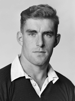 Colin Meads, New Zealand's player of the century.