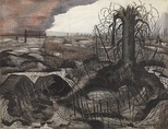 Paul Nash, Wire (1918).