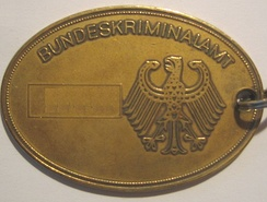 Bundeskriminalamt (BKA)-Badge