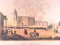 El Paso was founded by Spanish settlers in 1659.