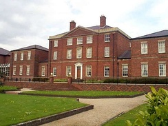 Etruria Hall, the family home, built 1768–1771 by Joseph Pickford. It was restored as part of the 1986 Stoke-on-Trent Garden Festival and is now part of a four-star hotel.