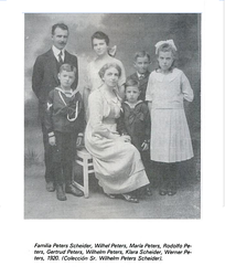 Family of German immigrants in Costa Rica