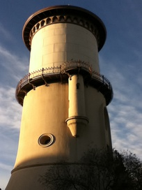 One of the earliest buildings in Fresno, the Fresno Water Tower, was built in 1894.