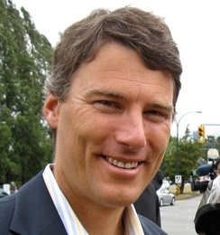 Gregor Robertson is the 39th Mayor of Vancouver. He was elected to the position in 2008.