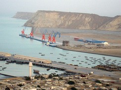Gwadar Port is the deepest sea port of the world.[442]
