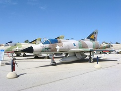 Dassault Mirage at the Israeli Air Force Museum. Operation Focus was mainly conducted using French built aircraft.