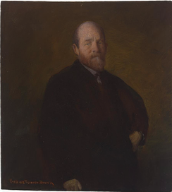 Artist: George de Forest Brush, Sitter: Henry George, Date: 1888