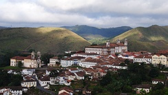 The colonial city of Ouro Preto, a World Heritage Site, is one of the most popular destinations in Minas Gerais.