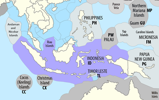 Indonesia's exclusive economic zone
