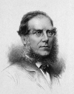 Engraving of Hooker by Charles Henry Jeens (1827–1879)