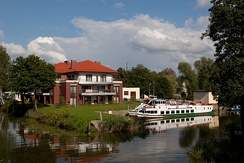 The Elbląg Canal in Ostróda