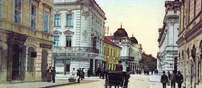 Knez Mihailova street at the end of the 19th century