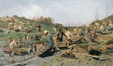 Repairing the Railroad , 1874
