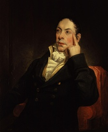 Matthew Gregory Lewis, by Henry William Pickersgill, 1809