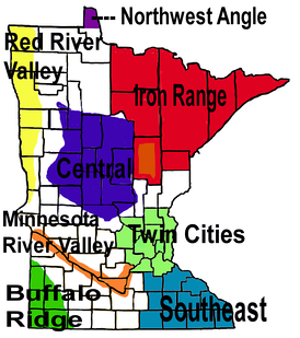 Regions of Minnesota.