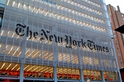 The New York Times headquarters 620 Eighth Avenue
