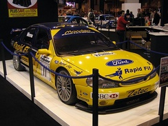 Ford Mondeo as driven by Alain Menu for Ford Team Mondeo in the 2000 British Touring Car Championship