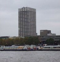 The London Studios, seen from across the River Thames.