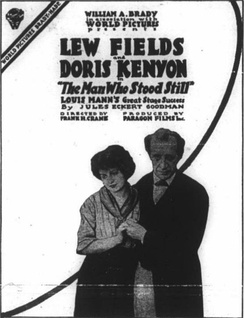 Advertisement for The Man Who Stood Still (1916)