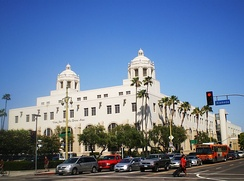 USPS Terminal Annex building in Los Angeles
