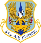 Emblem of the 34th Air Division
