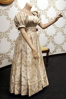 Dress made from silk