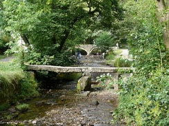 Clapper and Pack-horse bridges