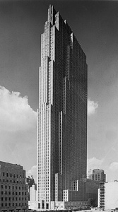 30 Rockefeller Center, now the Comcast Building, by Raymond Hood (1933)