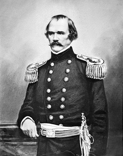 Albert Sidney Johnston was charged with maintaining a Confederate defensive line in southern Kentucky and northern Tennessee