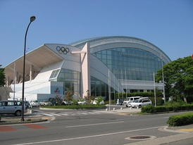 Aqua Wing Arena host some ice hockey games for the 1998 Winter Olympics in Nagano.