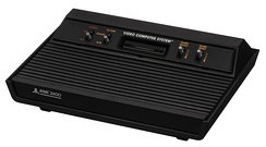 The all-black model that first used the Atari 2600 name (1982).